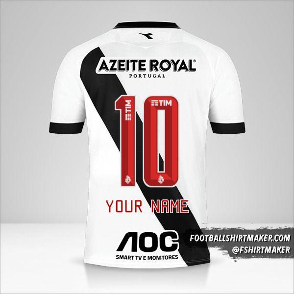 Vasco da Gama jersey 2019/20 II number 10 your name