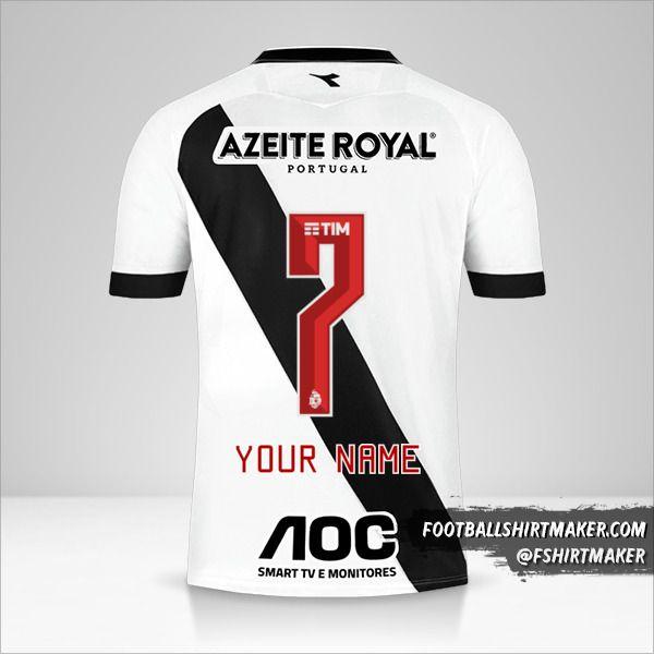 Vasco da Gama jersey 2019/20 II number 7 your name