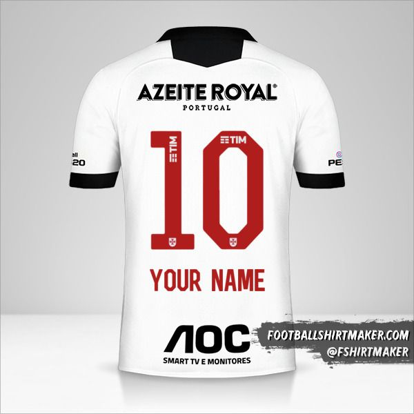Vasco da Gama 2019/20 III jersey number 10 your name