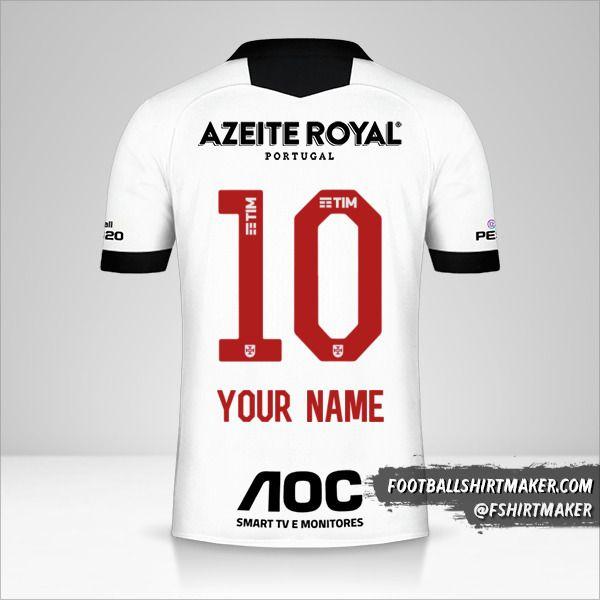 Vasco da Gama 2019/20 III jersey number 10 your name