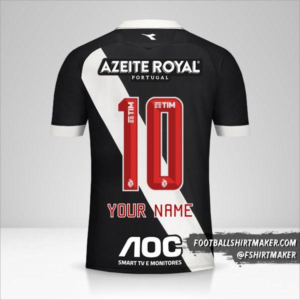 Vasco da Gama jersey 2019/20 number 10 your name