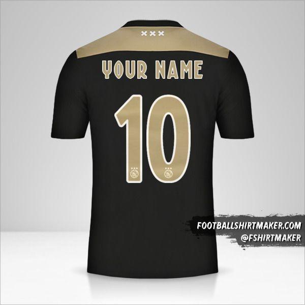 AFC Ajax 2018/19 II shirt number 10 your name