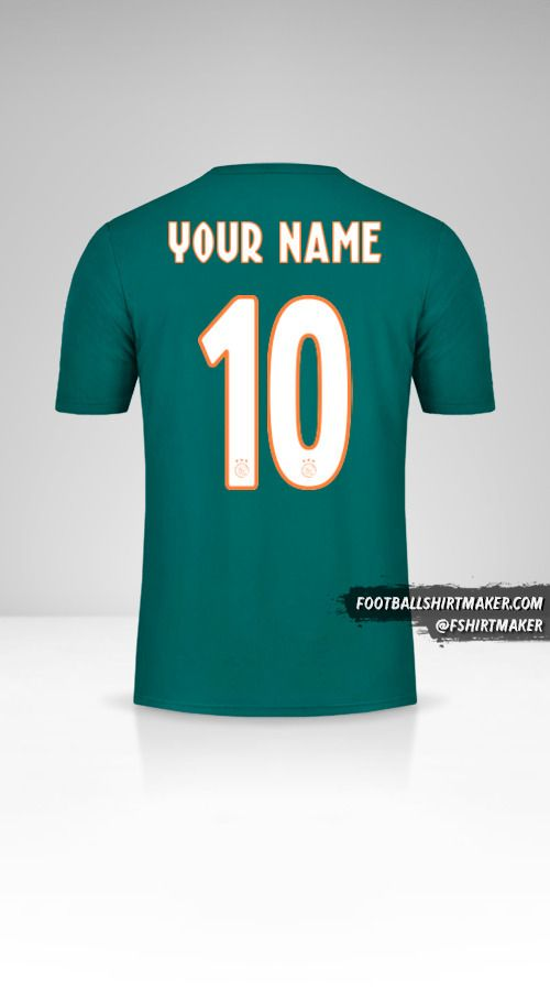 AFC Ajax 2019/20 II shirt number 10 your name