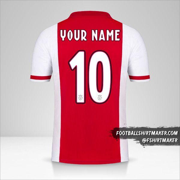 AFC Ajax 2020/21 shirt number 10 your name