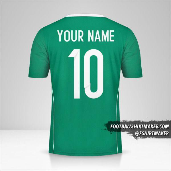 Algeria 2015 II shirt number 10 your name
