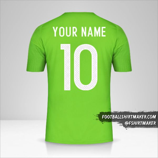 Algeria 2016/17 II shirt number 10 your name