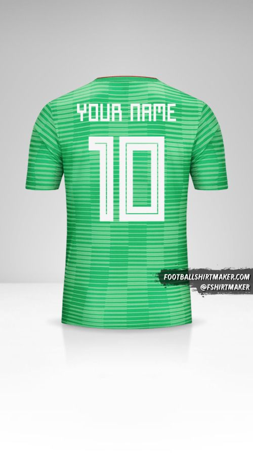 Algeria 2018 II shirt number 10 your name