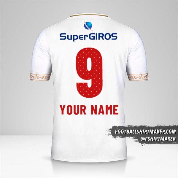 America de Cali shirt 2019 II number 9 your name