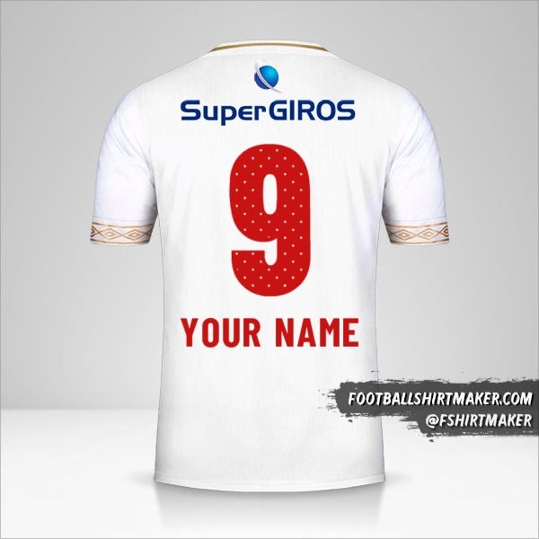 America de Cali 2019 II shirt number 9 your name