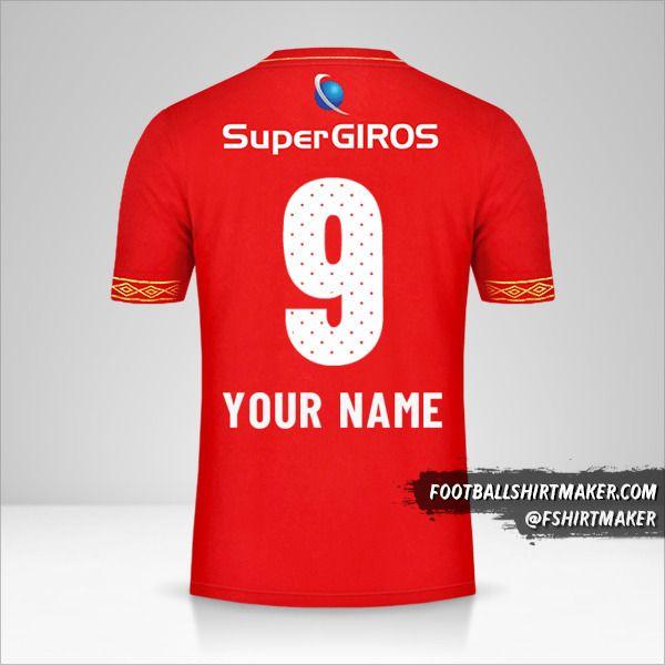 America de Cali 2019 shirt number 9 your name