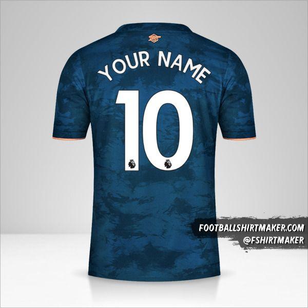 Arsenal 2020/21 III shirt number 10 your name