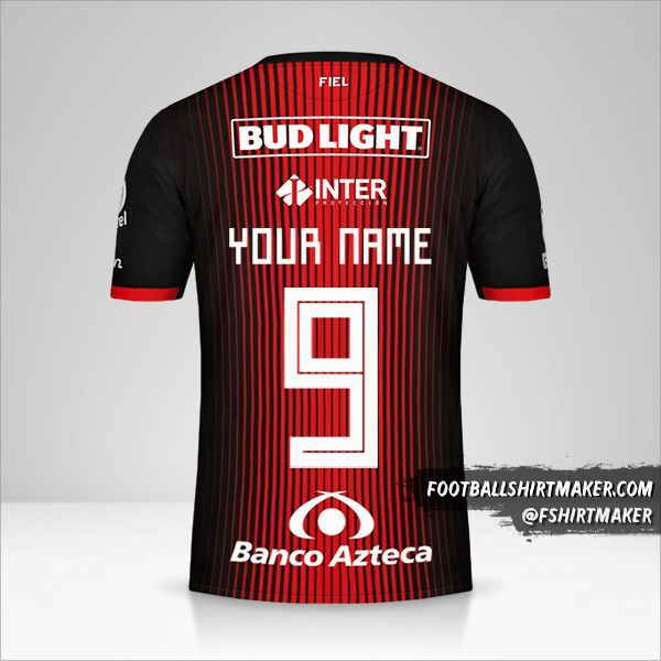 Atlas 2019/20 shirt number 9 your name