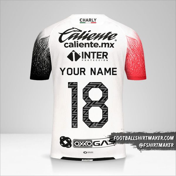 Atlas 2020/21 II shirt number 18 your name