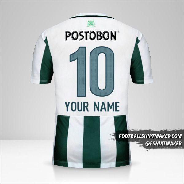 Atletico Nacional 2015 shirt number 10 your name