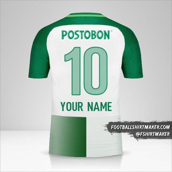 Atletico Nacional 2017 shirt number 10 your name