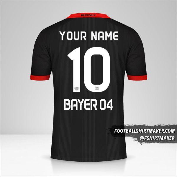 Bayer 04 Leverkusen 2020/21 shirt number 10 your name