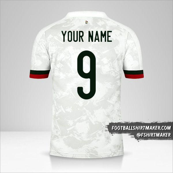 Belgium 2020/2021 II shirt number 9 your name