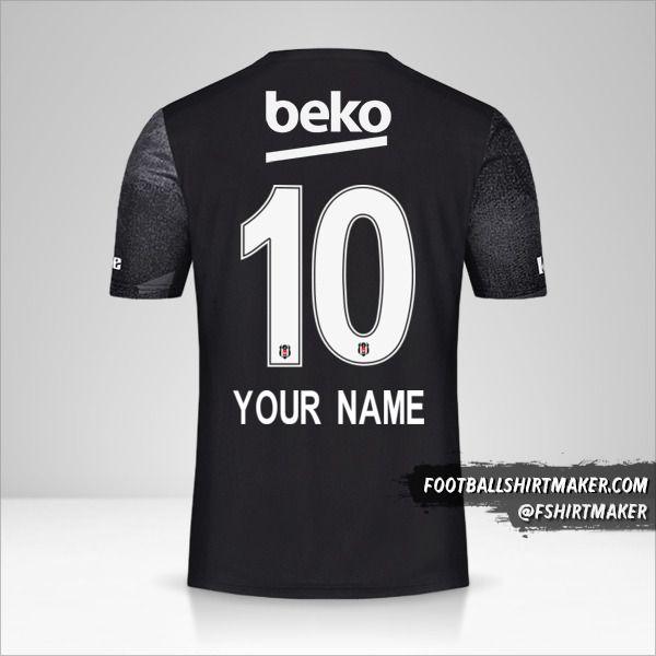 Besiktas JK 2019/20 II shirt number 10 your name