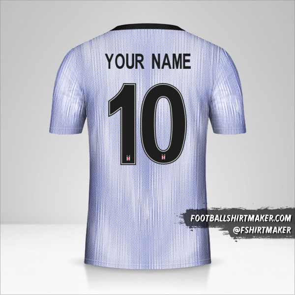 Besiktas JK 2019/20 Cup III shirt number 10 your name
