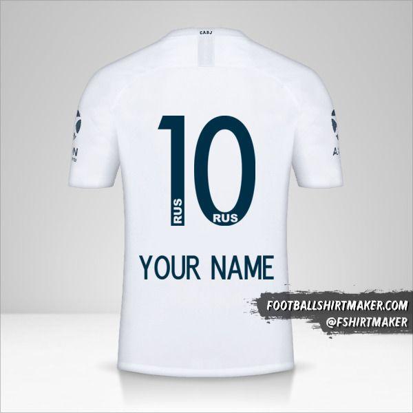 Boca Juniors 2018/19 II shirt number 10 your name