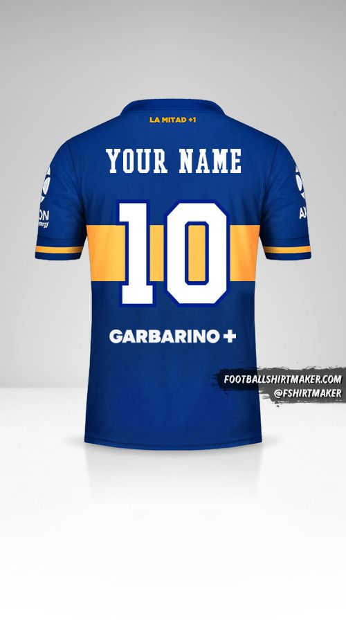 Boca Juniors 2020/21 shirt number 10 your name