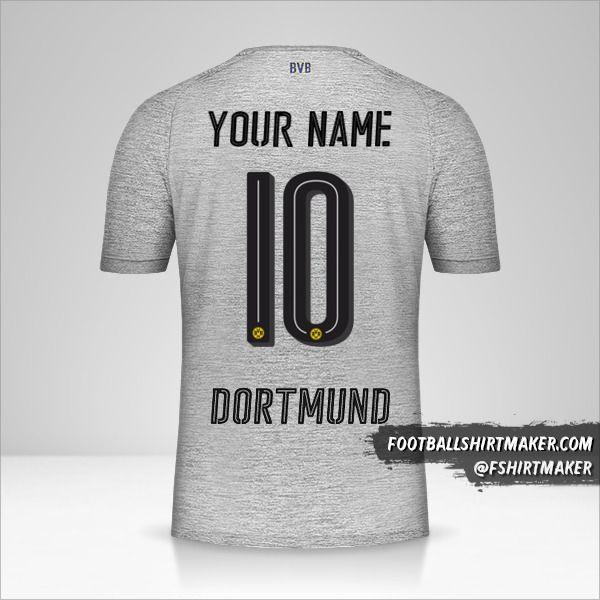 Borussia Dortmund 2017/18 III shirt number 10 your name