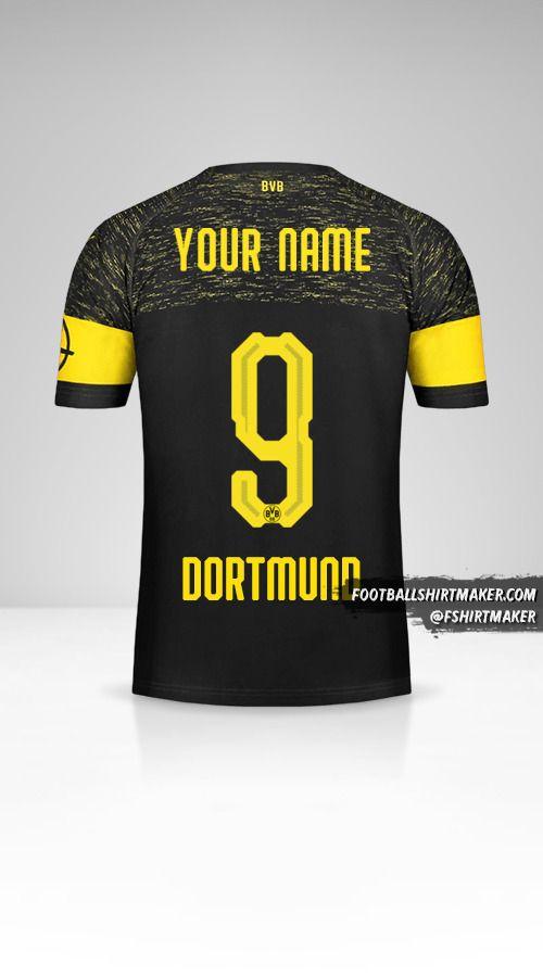 Borussia Dortmund 2018/19 II shirt number 9 your name