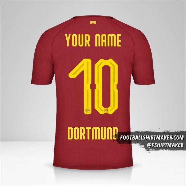 Borussia Dortmund 2018/19 III shirt number 10 your name