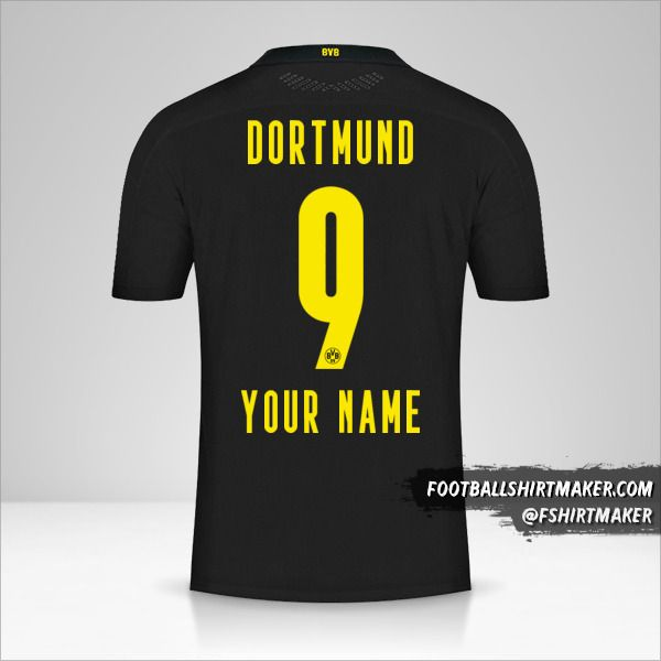 Borussia Dortmund 2020/21 II shirt number 9 your name