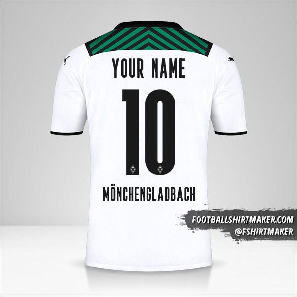 Borussia Monchengladbach 2021/2022 shirt number 10 your name