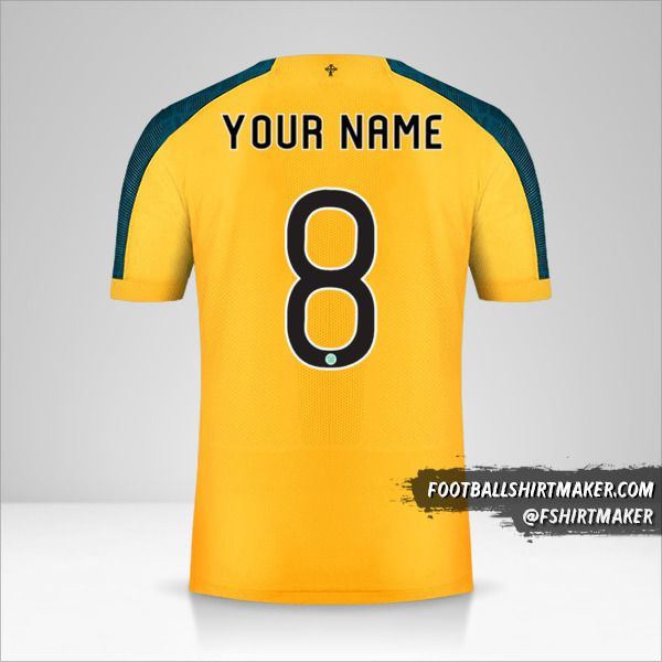 Celtic FC 2019/20 Cup II shirt number 8 your name