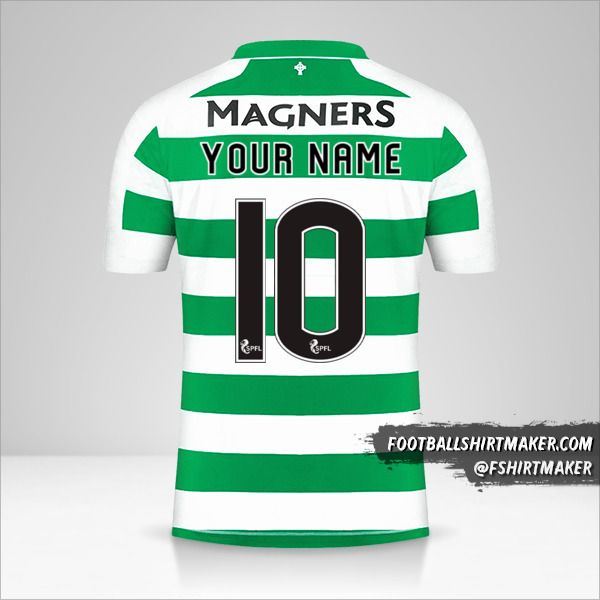 Celtic FC 2019/20 shirt number 10 your name