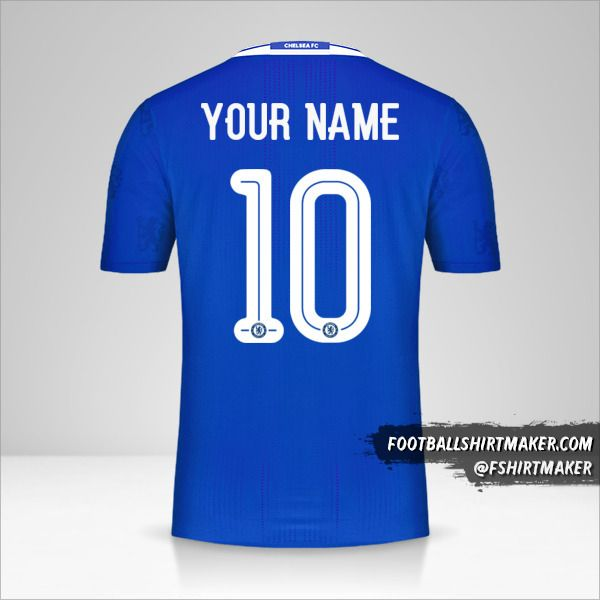 Chelsea 2016/17 Cup shirt number 10 your name