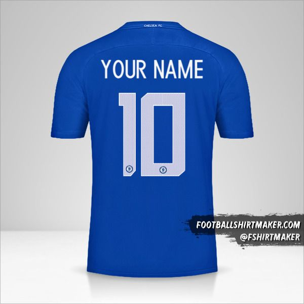 Chelsea 2017/18 Cup shirt number 10 your name