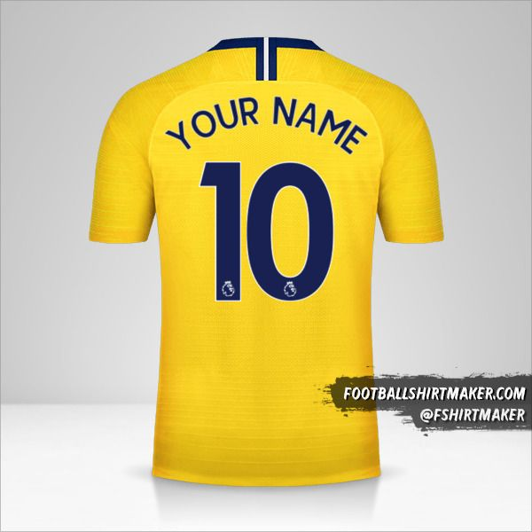 Chelsea 2018/19 II shirt number 10 your name