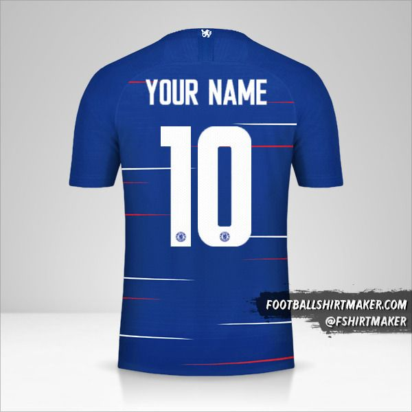 Chelsea 2018/19 Cup shirt number 10 your name