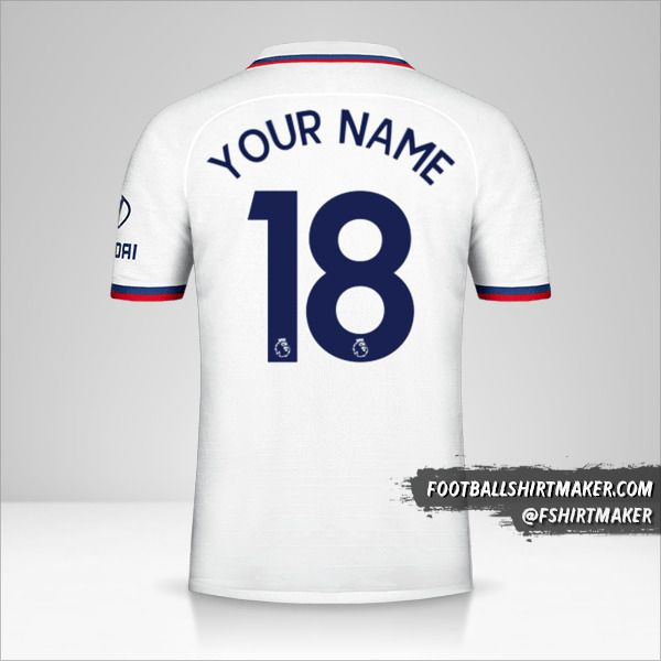 Chelsea 2019/20 II shirt number 18 your name