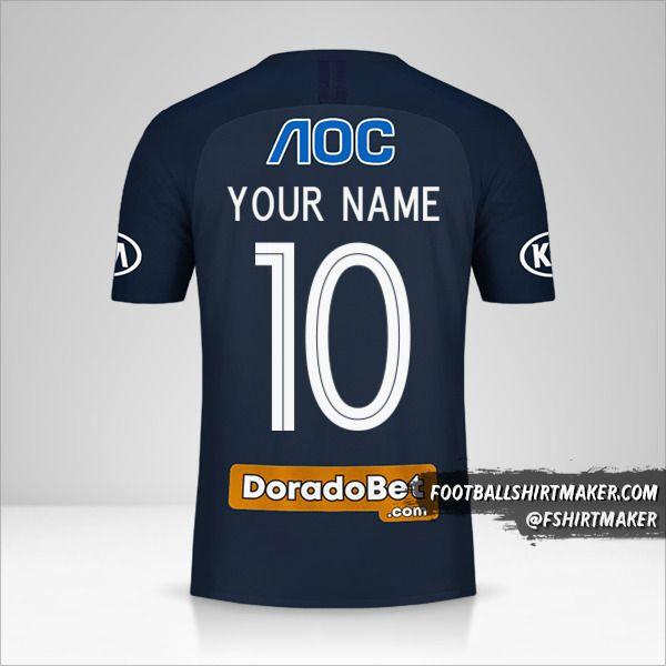 Club Alianza Lima shirt 2019 II number 10 your name