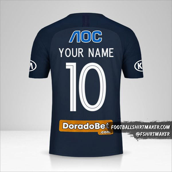 Club Alianza Lima 2019 II shirt number 10 your name