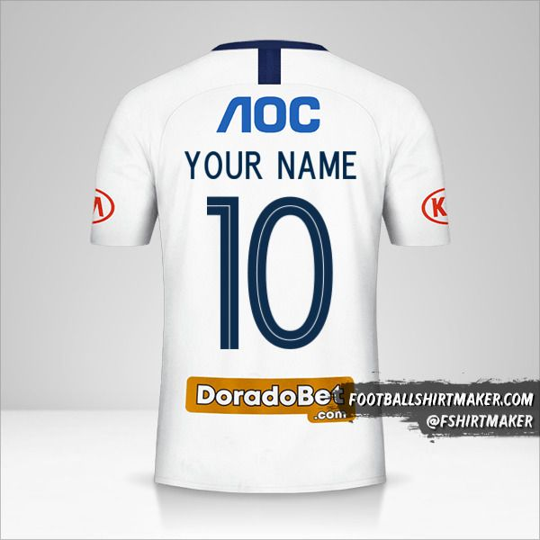 Club Alianza Lima 2019 shirt number 10 your name