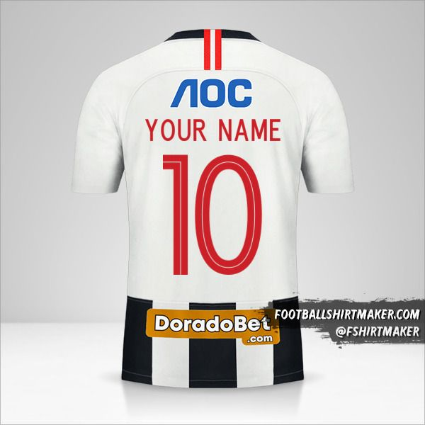 Club Alianza Lima 2020 shirt number 10 your name