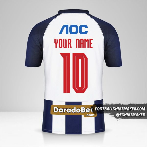 Club Alianza Lima 2021 shirt number 10 your name