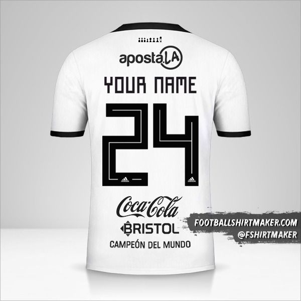 Club Olimpia Libertadores 2019 shirt number 24 your name