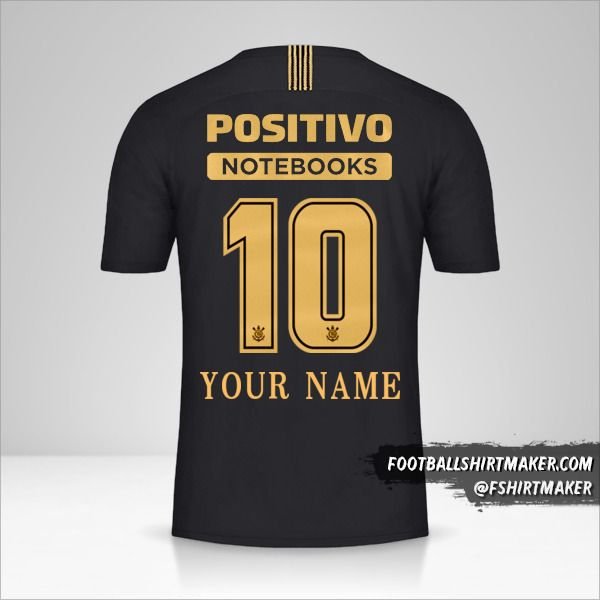 Corinthians 2018/19 Ayrton Senna shirt number 10 your name