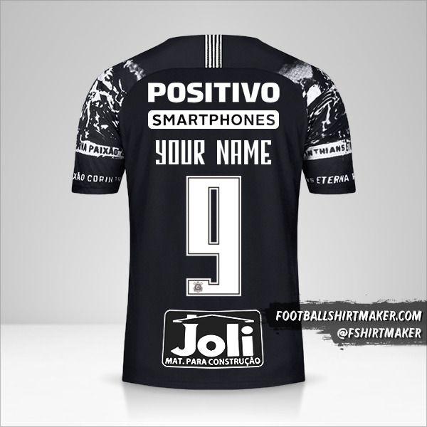 Corinthians 2019/20 III shirt number 9 your name