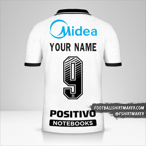 Corinthians 2020/21 shirt number 9 your name