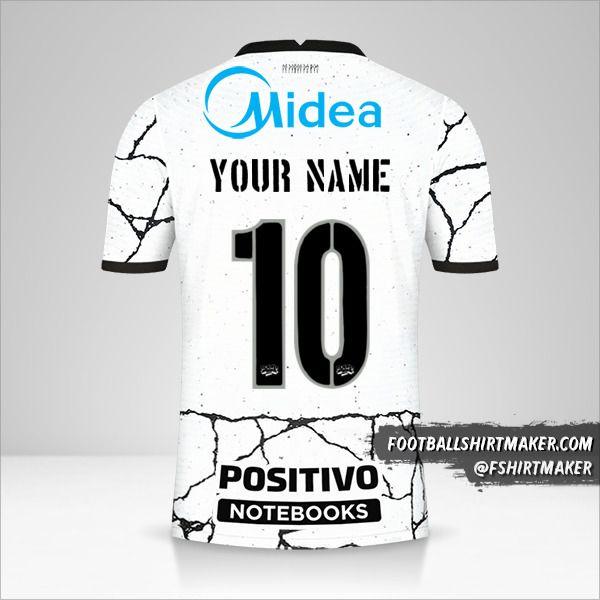 Corinthians 2021/2022 shirt number 10 your name