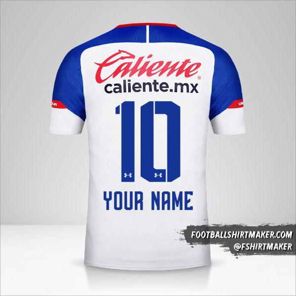 Cruz Azul 2018/19 II shirt number 10 your name