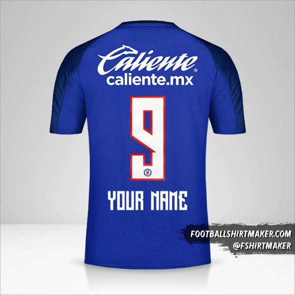 Cruz Azul 2019/20 shirt number 9 your name