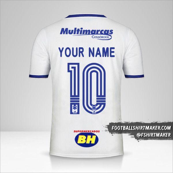 Cruzeiro 2020 II shirt number 10 your name
